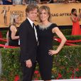 William H. Macy et sa femme Felicity Huffman - 21e édition des Screen Actors Guild Awards à Los Angeles le 25 janvier 2015