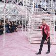 Défilé Christian Dior haute couture printemps-été 2015 au musée Rodin. Paris, le 26 janvier 2015.