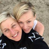 Ellen DeGeneres : Amoureuse et naturelle à la veille de ses 57 ans !