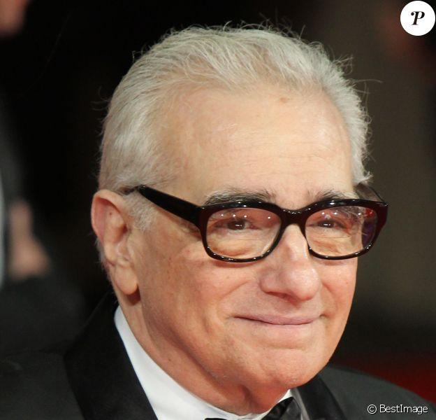 Martin Scorsese à la cérémonie des Bafta Awards à Londres, le 16 février 2014.