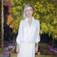 Cécile Cassel au Dîner de la mode pour le Sidaction au pavillon d'Armenonville à Paris le 29 janvier 2015.