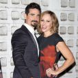 "Kevin Richardson, Kristin Richardson à la première de ""Backstreet Boys: Show Em What You're Made Of"" à Hollywood, le 29 janvier 2015"