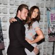 "Nick Carter, Lauren Kitt à la première de ""Backstreet Boys: Show Em What You're Made Of"" à Hollywood, le 29 janvier 2015"