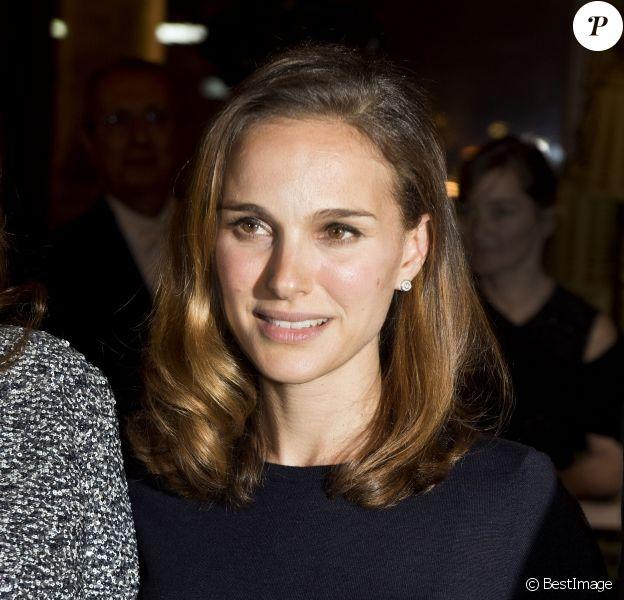 Natalie Portman - 40e anniversaire du Conseil Pasteur-Weizmann à l'Opéra Garnier à Paris le 12 janvier 2015.