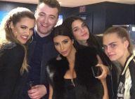 Kim Kardashian : Ravissante avec ses soeurs pour un concert animé