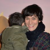 Clotilde Hesme, radieuse, son enfant dans les bras : Son voyage avec ''Gus''