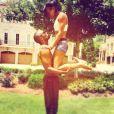 Bobbi Kristina Brown, la fille de feu Whitney Houston, a adopté un mode de vie très sain, à base de sport qu'elle pratique avec son mari Nick Gordon.