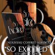 Le coffret So Excited de Clara Morgane, disponible en magasins le 5 février 2015