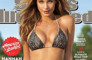 Hannah Davis : En couv' de Sports Illustrated Swimsuit, la bombe fond en larmes