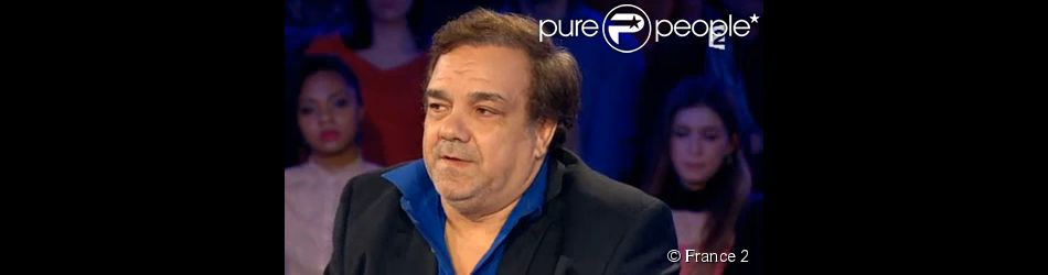 Didier Bourdon, invité dans On n'est pas couché sur France 2, le samedi 7 février 2015.