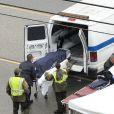 Photo de l'accident de voiture dans lequel était impliqué Bruce Jenner à Malibu le 7 février 2015.
