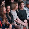 Beyoncé Knowles, Kim Kardashian, Anna Wintour et Hailey Baldwin assistent à la présentation de la collection YEEZY SEASON 1 (adidas Originals x Kanye West) au studio Skylight Clarkson Square. New York, le 12 février 2015.