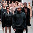 Présentation de la collection YEEZY SEASON 1 (adidas Originals x Kanye West) au Skylight Clarkson Square. New York, le 12 février 2015.