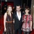 Louane Emera, Eric Lartigau, Marina Foïs - 40ème cérémonie des César au théâtre du Châtelet à Paris, le 20 février 2015.