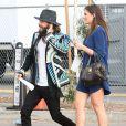"""Jarod Leto arrive à la soirée """"Film Independent Spirit Awards"""" à Santa Monica le 21 février 2015."""