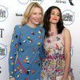"""Cate Blanchett, Emmy Rossum lors de la Soirée """"Film Independent Spirit Awards"""" à Santa Monica le 21 février 2015."""