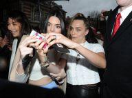 Fashion Week : Kendall Jenner et Cara Delevingne, copines chic au défilé Topshop