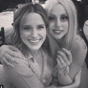 Lady Gaga : Avec Sophia Bush elle fête ses fiançailles, et prépare son mariage