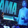 """Serge Lama lors de l'Enregistrement de l'émission TV pour France 2,""""Le Grand Show"""" de Michel Drucker qui sera diffusée le 22 mars 2014 sur France 2"""