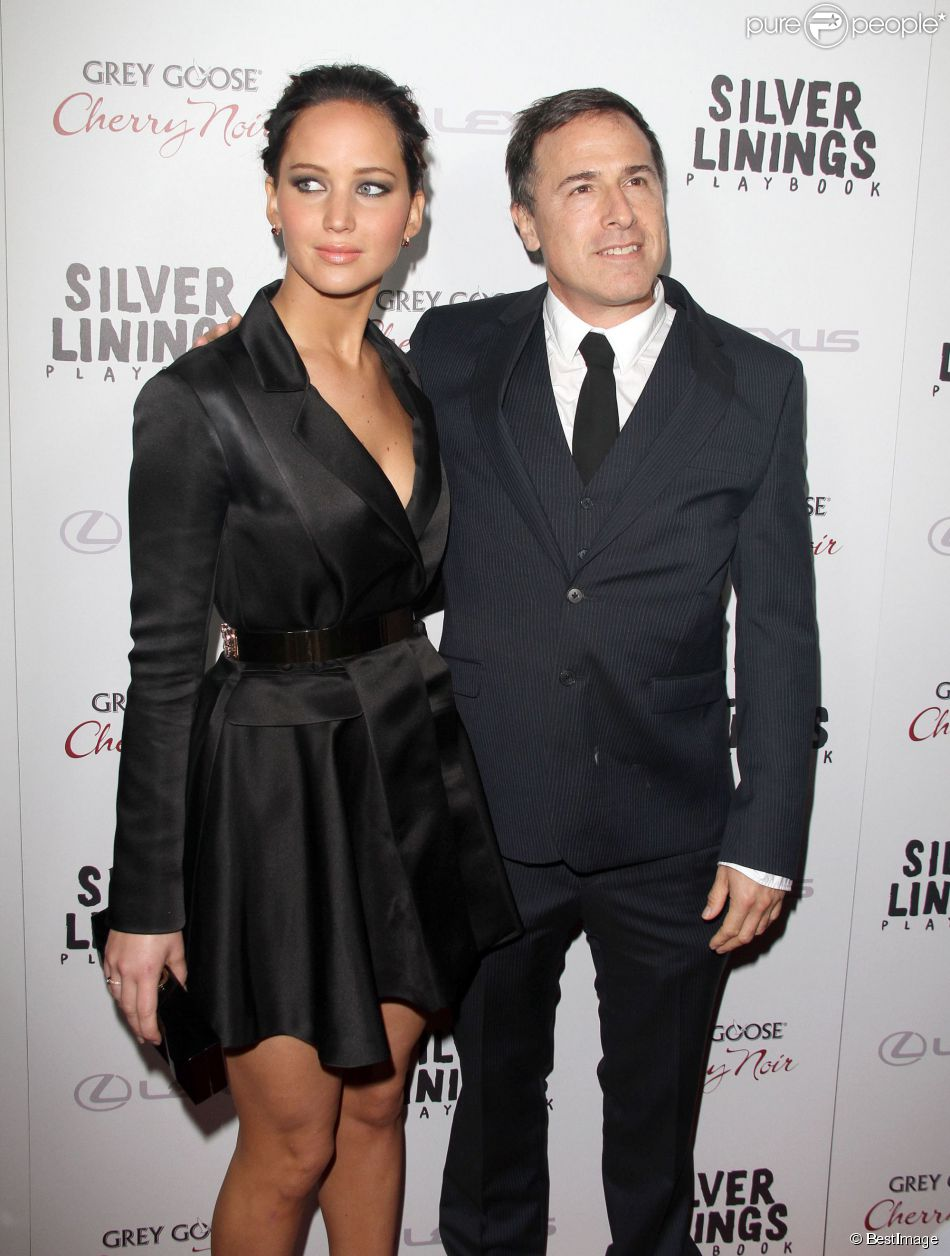 "Jennifer Lawrence, David O. Russell - Premiere de ""Silver Linings Playbook"" a Beverly Hills, le 19 novembre 2012."