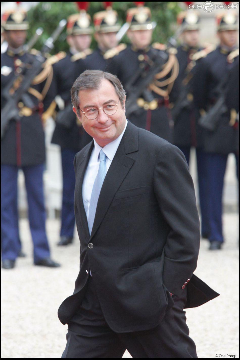 Martin Bouygues le 16 mai 2007 à l'Elysée