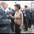 Rachida Dati en visite à Rouen