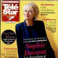 Sophie Davant en couverture de Télé Star