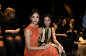 Fashion Week : Freida Pinto, renversante au défilé Salvatore Ferragamo