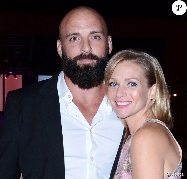 A.J. Cook et son époux Nathan Anderson à Santa Monica, le 19 octobre 2013.