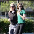 Kim Basinger et sa fille Ireland