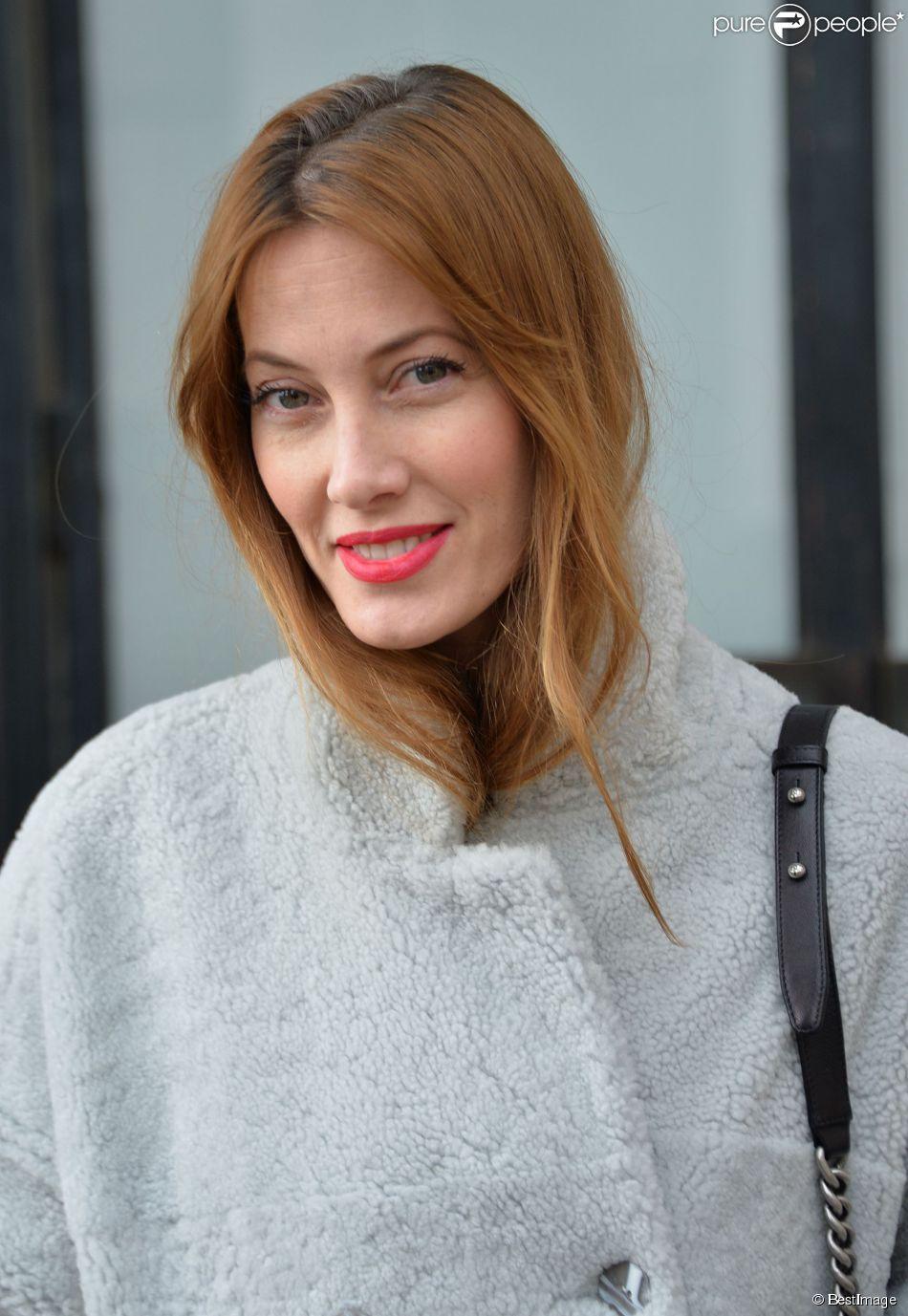 """Mareva Galanter - Arrivée des people au défilé de mode """"Each x Other"""" lors de la fashion week à Paris, le 3 mars 2015.03/03/2015 - Paris"""