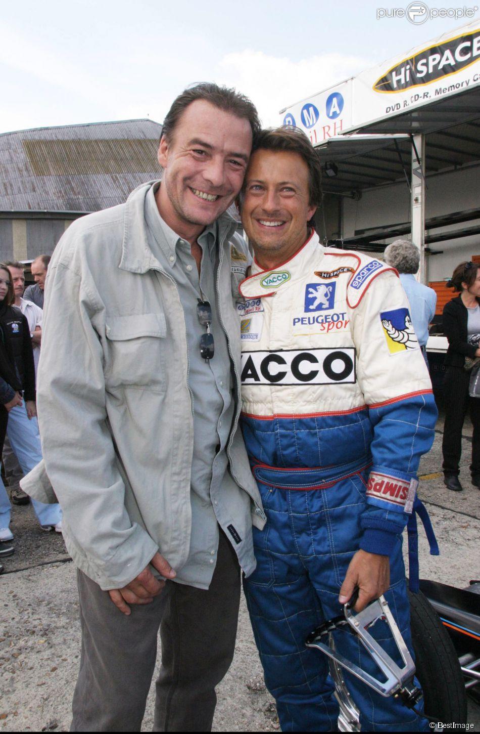 Pascal Brunner et Vincent Perrot le 9 septembre 2003.