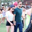 """""""Robert Pattinson et Kristen Stewart au festival de musique de Coachella en Californie Indio, le 13 Avril 2013."""""""