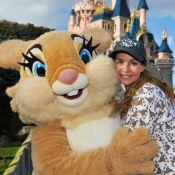 Ingrid Chauvin : Radieuse et printanière à Disneyland