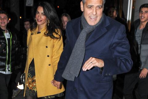 George Clooney et la superbe Amal : Dîner à deux pour les nouveaux New-Yorkais