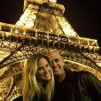 Bar Refaeli à Paris avec son amoureux, le 27 septembre 2014