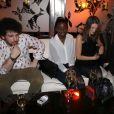 Exclusif - Thomas Blumenthal, Karidja Touré, Joséphine Japy et Ahmed Dramé - Soirée des jeunes espoirs du cinéma français avec un dîner au restaurant La Petite Maison de Nicole suivi d'une soirée au Queen à Paris, le 6 mars 2015.