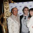 """Guest, Mikelangelo Loconte et Ornella Damperon - Soirée """"SEP'Arty"""" organisée par Ornella Damperon au profit des malades de la sclérose en plaques au Grand Rex à Paris, le 9 mars 2015"""