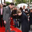 Jim Parsons, Kaley Cuoco - Jim Parsons reçoit son étoile sur Hollywood Walk of Fame, le 10 mars 2015