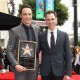Jim Parsons, Todd Spiewak - Jim Parsons reçoit son étoile sur Hollywood Walk of Fame, le 10 mars 2015