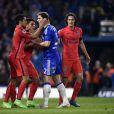 Marquinhos lors du huitième de finale de Ligue des champions, le 11 mars 2015 à Stamford Bridge à Londres face à Chelsea