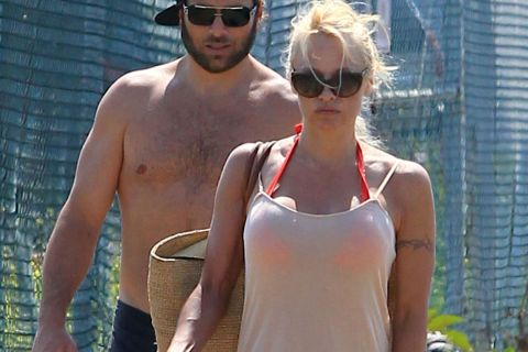 Pamela Anderson: Rick Salomon violent, elle demande une ordonnance restrictive