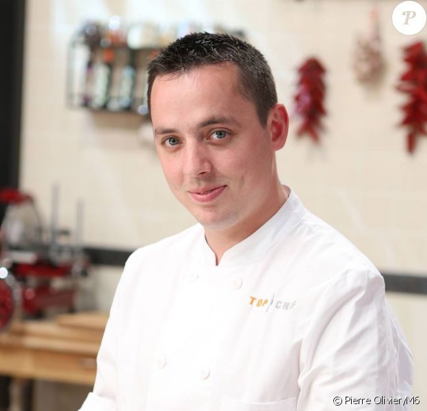 Christophe Pirotais, candidat à Top Chef 2015.