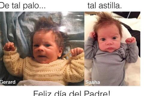 Shakira : Son bébé Sasha est le portrait de Gerard Piqué !