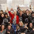 Laeticia Hallyday et toutes ses copines à New York pour son 40e anniversaire, mars 2015.