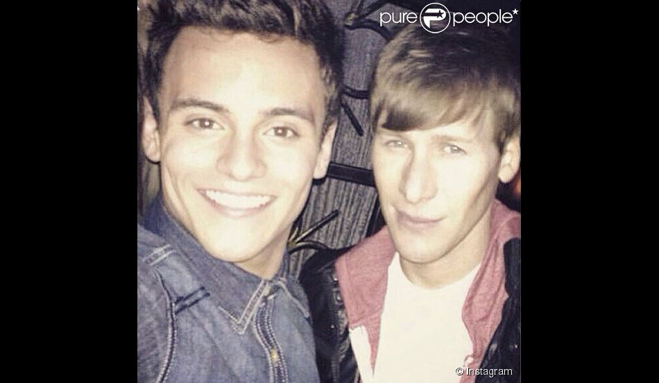 Tom Daley et Dustin Lance Black sur Instagram le 22 mars 2015