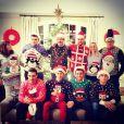 Tom Daley et Dustin Lance Black lors des fêtes de fin d'année le 26 décembre 2014