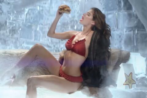Sara Sampaio : Ultrasexy et affamée, elle provoque la fonte des glaces