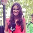 Lucia Villalon, journaliste de Real Madrid TV - 2015