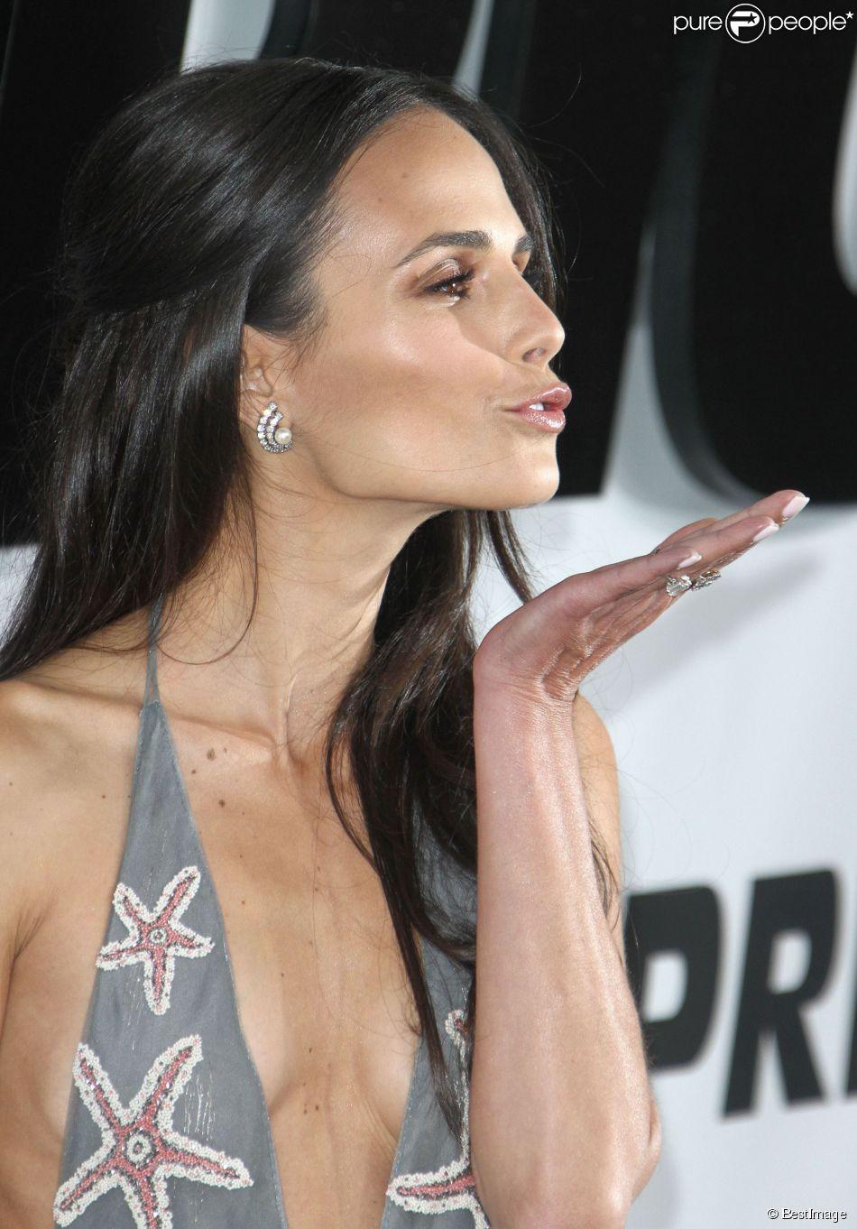 """Jordana Brewster - Avant-première du film """"Fast and Furious 7"""" à ..."""